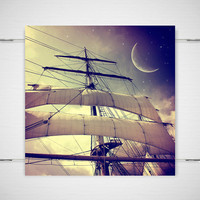Fantasy Pirate Ship Photography Second Star to by jpgphotography