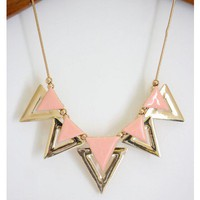 Pastel Pink Necklace