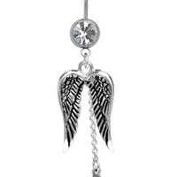 Dangle Wings And Cross G...