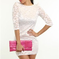 Lace dress - Cute Lace Dress