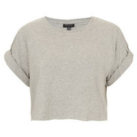 Roll Back Crop Tee - Top Rated  - Collections