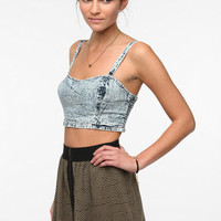 Urban Outfitters - Out From Under Stonewash Denim Bra Top