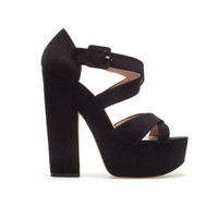 PLATFORM SANDAL - TRF - New this week - ZARA Canada