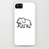 Baby Elephant iPhone Case by Julia Loring | Society6