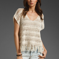 ELLA MOSS Mohawk Top in Natural at Revolve Clothing - Free Shipping!