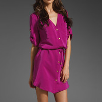 AMANDA UPRICHARD Pocket Dress in Orchid at Revolve Clothing - Free Shipping!