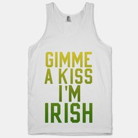Gimme a Kiss, I'm Irish (Washed Out) (Tank) | HUMAN