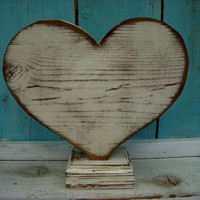 Wood Heart What Wood Your Heart Love by honeystreasures on Etsy