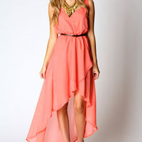 Katie Mixi Hem Dress