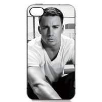 Amazon.com: CHANNING TATUM B&amp;W Black Sides Hard Plastic Slim Snap On Case Cover for iPhone 4 4s in EverestStar Box Packaging: Cell Phones &amp; Accessories