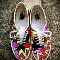 Limited NEON LIGHTS SLOTH Vans