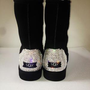 LUXURY UGG tall boots w Swarovski Elements - Luxury CUSTOM MADE designer item