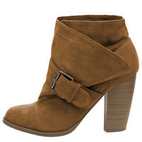 GYPSY WARRIOR - Buckle Bootie - Rust