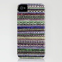 Black Pattern iPhone Case by Romi Vega | Society6