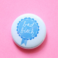 Bad B Award Button
