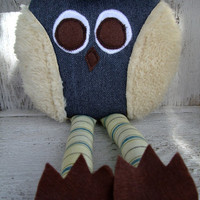 Whimsical Owl by OurPlaceToNest on Etsy