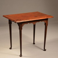 Rhode Island Mahogany Tea Table