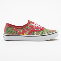 Van Doren Authentic Slim Hawaiian Floral Print Sneaker