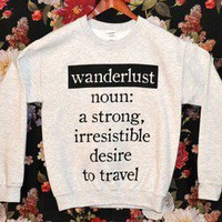 'Wanderlust' Sweater