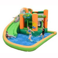 Amazon.com: Endless Fun 11-in-1 Inflatable Bounce House and Water Slide: Patio, Lawn & Garden