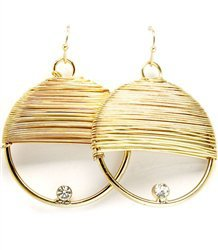 Spun Gold Earrings