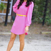 Where Have You Been All My Life Tunic: Pink | Hope&#x27;s