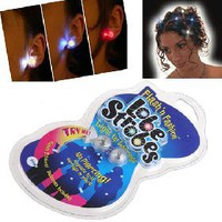 2 x Lobe Strobes Multi-Purpose Magnetic LED Flashing Ear Stud Mini Light [4349] - US&amp;#36;2.19 - China Electronics Wholesale - FlyDolphin.com