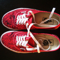 $95.00 Sneakers Vans Custom sneakers hand painted by UrbanAntix on Etsy