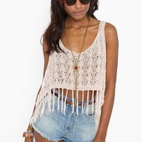 Fringed Crop Tank