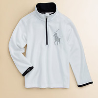 Ralph Lauren - Toddler&#x27;s &amp; Little Boy&#x27;s Half-Zip Mockneck Sweater