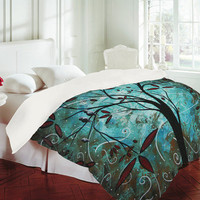 Madart Inc. Romantic Evening Duvet Cover - Luxe Duvet Cover /