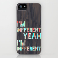 I&#x27;m Different iPhone Case by Jacqueline Maldonado | Society6