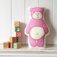 Pink Ted, Printed Softie | Luulla