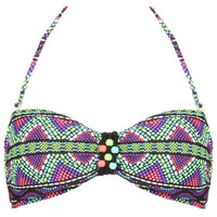 Gossip Swim - Beaded Bandeau Top