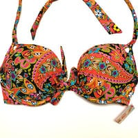Victoria&#x27;s Secret Gorgeous Push Up Underwire Padded Swimsuit Bathing Suit V389