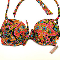Victoria's Secret Gorgeous Push Up Underwire Padded Swimsuit Bathing Suit V389