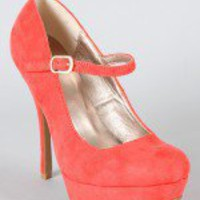Onyx-49 Round Toe Mary Jane Pump
