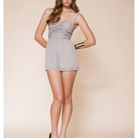 KEEPSAKE 1 ONLY Little History Playsuit STONE #12