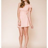 KEEPSAKE 1 ONLY Forbidden Love Dress PEACH #12