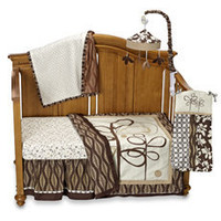 CoCaLo? Pewter 4-Piece Crib Bedding Set and Accessories - buybuy BABY