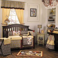 Delilah Bedding by Cocalo Couture - Baby Crib Bedding - 7033-814