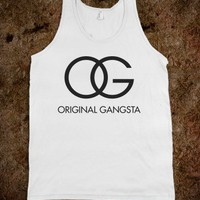 Original Gangsta (Coco Tank) - Attitude Shirts