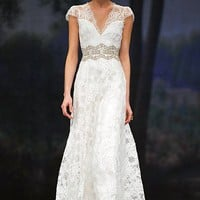 Brigitte: Claire Pettibone Wedding Dress Wedding Gown: Bridal Spring 2012 Collection | TheRingBearer.ca