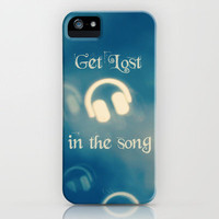 Get Lost in the Song iPhone Case by Beth - Paper Angels Photography | Society6