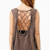 Knotted Cross Tank