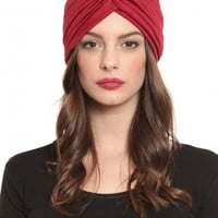 Gypsy Turban - Maroon - Accessories | GYPSY WARRIOR