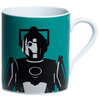 """Doctor Who"" Doctor Who Home: Cyberman Mug at BBC Shop"