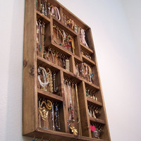 Jewelry Organizer, Earring Holder, Special Valentines Sale Price