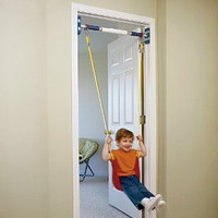 Amazon.com: Rainy Day Playground Indoor strap swing (to be used with support system): Toys &amp; Games