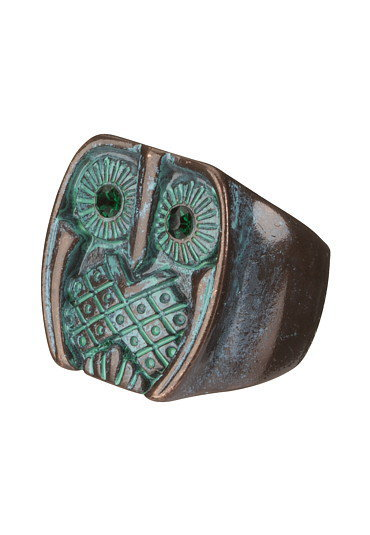 Paint Spray Owl Ring - maurices.com